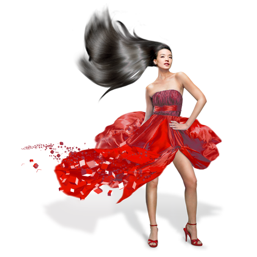 Girls-Red-Dress icon