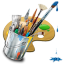 http://icons.iconarchive.com/icons/itzikgur/my-seven/64/Graphics-Painting-icon.png