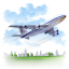 Travel-Airplane icon