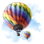 Travel Baloon icon