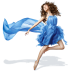 Girls-Blue-Dress icon
