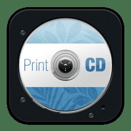 Print CD icon