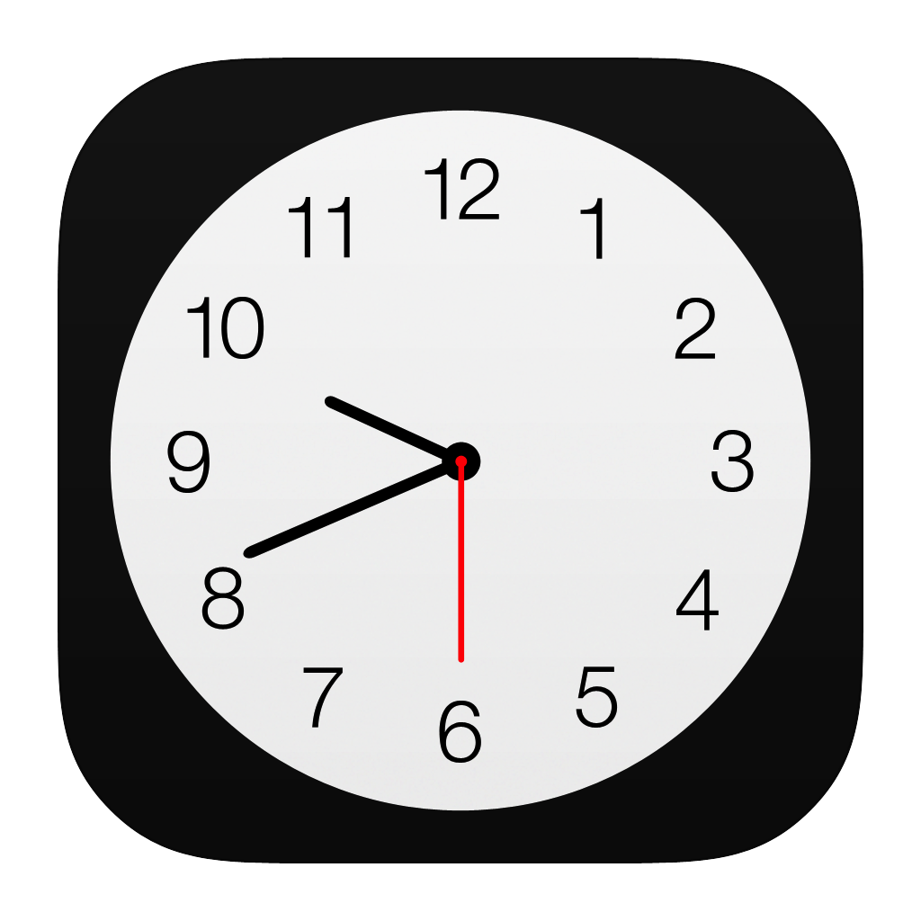 Uhr icon png  Clock Icon | iOS7 Style Iconset | iynque