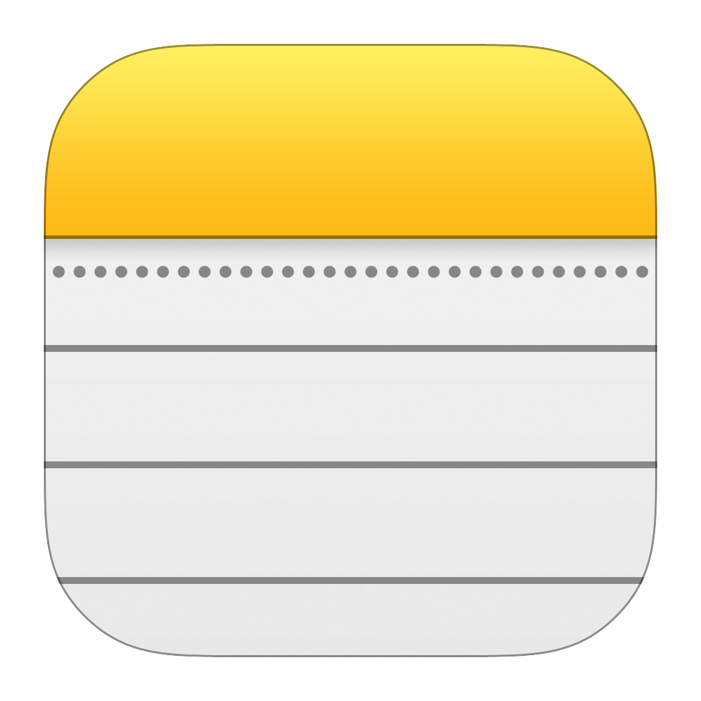 Notes icon ios7