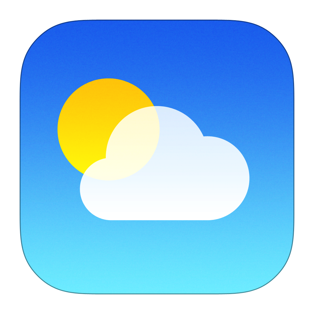 Weather Icon | iOS7 Style Iconset | iynque