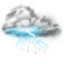 Thunder-lightning-storm icon