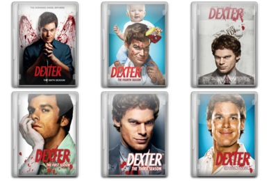 Dexter TV Series Icons