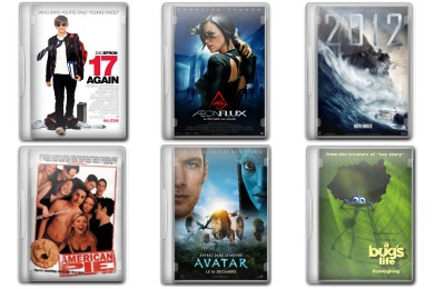 Movie Pack 1 Icons