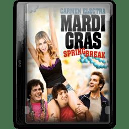 Mardi Gras Spring Break icon