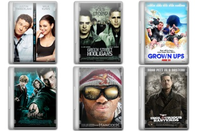 Movie Pack 4 Icons