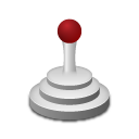Medical joystick icon
