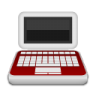 Medical-laptop icon