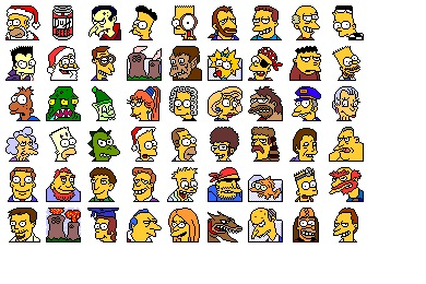 Simpsons Vol. 02 Icons