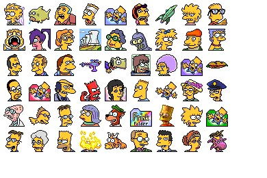 Simpsons Vol. 09 Icons