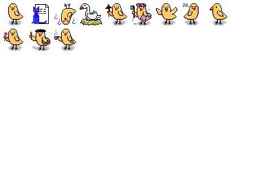 Birdie Icons