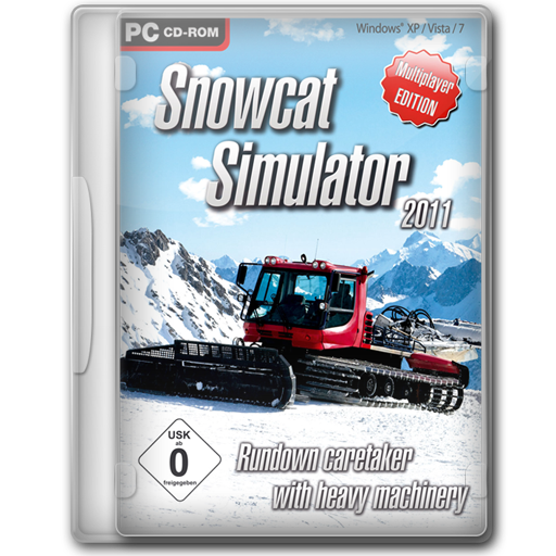 Snowcat Simulator 2011 icon