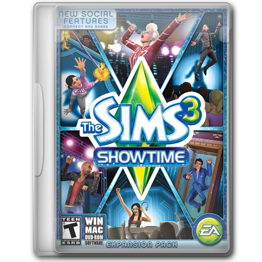 The Sims 3 Showtime icon
