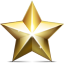 Golden-star icon