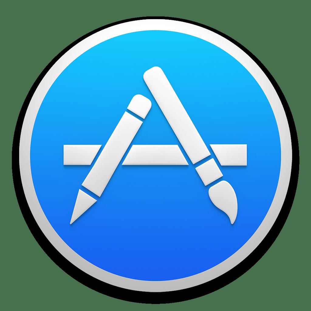 Appstore Icon Os X Yosemite Preview Iconset Johanchalibert