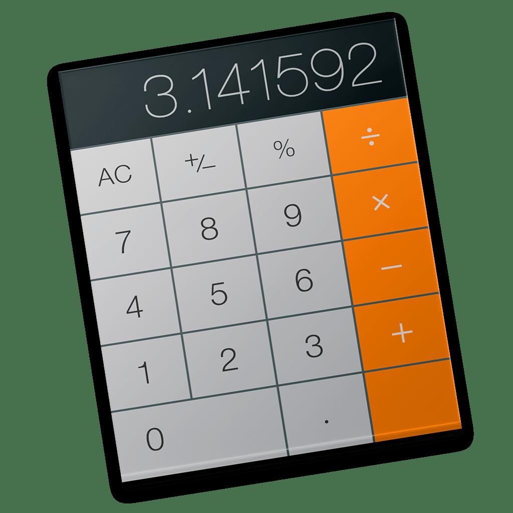 Calculator Icon | OS X Yosemite Preview Iconset ...