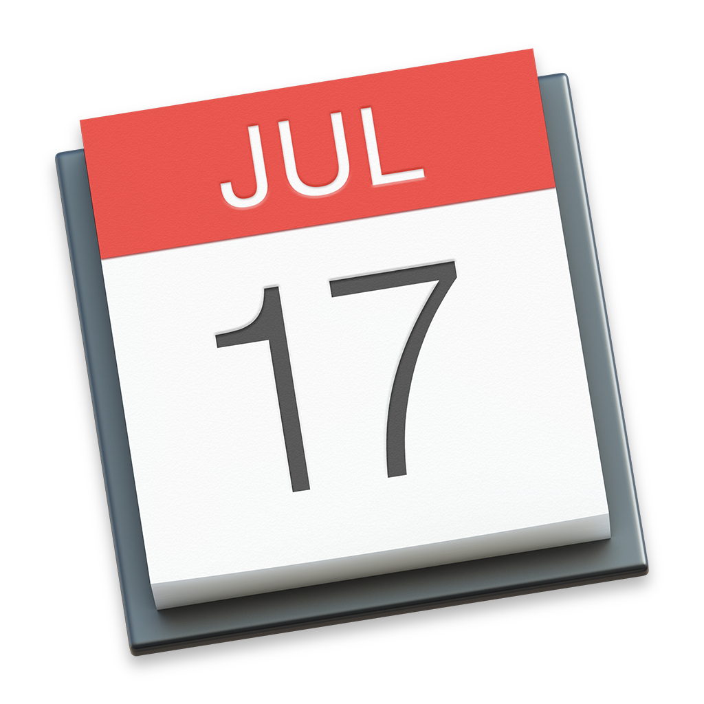Calendar Icon | OS X Yosemite Preview Iconset | johanchalibert
