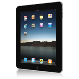 iPad front askew right icon