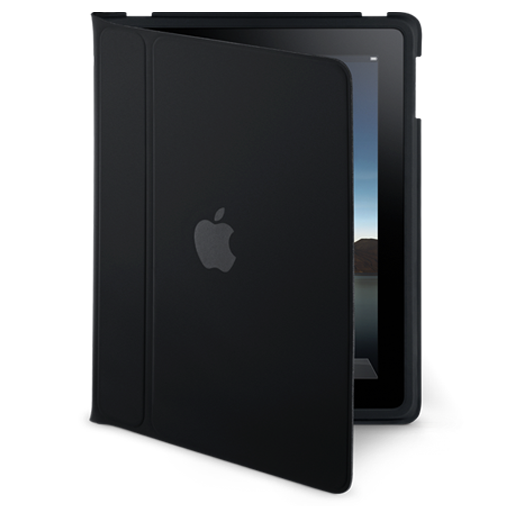 iPad flip case standing icon