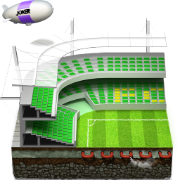 soccer football stadium icon
