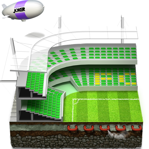 Soccer-football-stadium icon