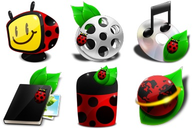 Ladybug Icons