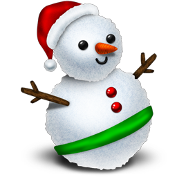 http://icons.iconarchive.com/icons/jommans/merry-xmas-2010/256/Snowman-icon.png