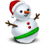 http://icons.iconarchive.com/icons/jommans/merry-xmas-2010/64/Snowman-icon.png