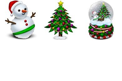 Merry Xmas 2010 Icons