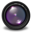 Aperture 3 purple icon