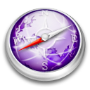 Safari purple icon
