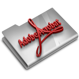 Adobe Acrobat Reader CS3 Overlay icon