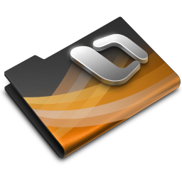 Powerpoint Dark Overlay icon
