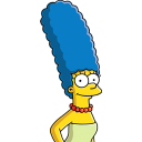 Marge Simpson icon