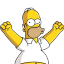 Homer Simpson 04 Happy icon