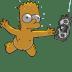 Bart-Simpson-06-Nirvana-Nevermind icon