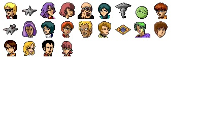 Zeta Gundam Icons