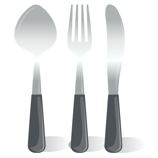 Cutlery Spoon Fork Knife icon
