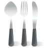 Cutlery-Spoon-Fork-Knife icon