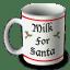 santa mug icon