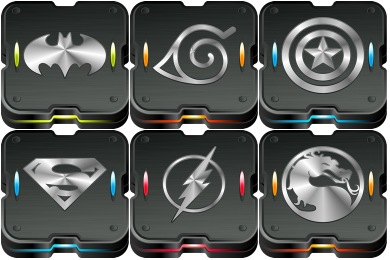 Skrynium Black Icons