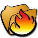 folder hot icon