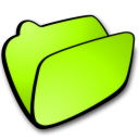 folder lime icon