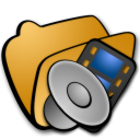 Folder multimedia 2 icon