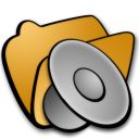 folder sound icon