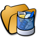 folder trash icon